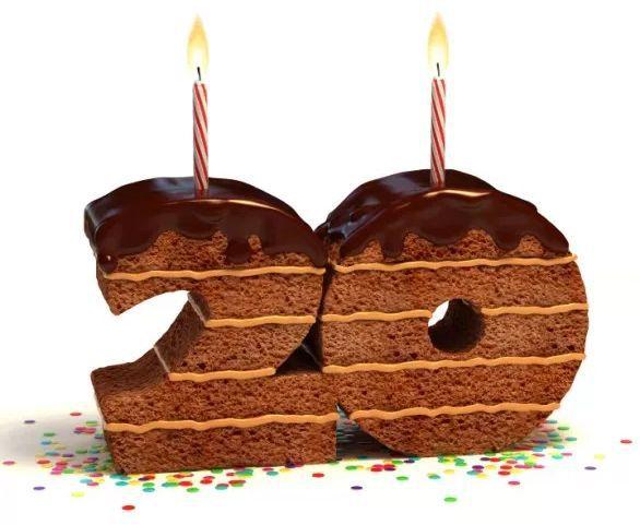 20歲生日蛋糕