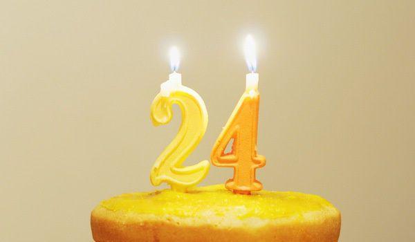 24歲生日