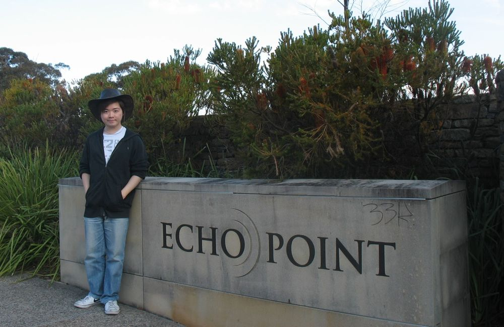 藍山觀景台 - Echo Point