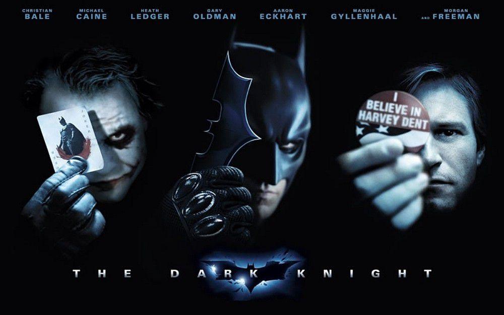 The Dark Knight - The Joker, Batman, Harvey Dent