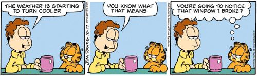 Garfield 2007.10.17 by Jim Davis