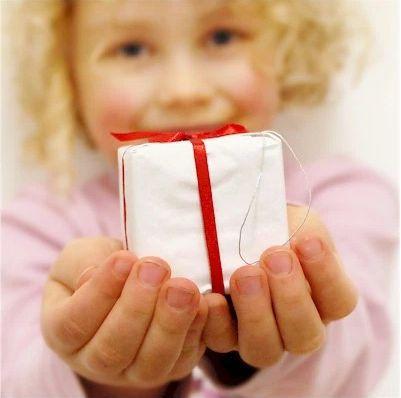女孩與禮物