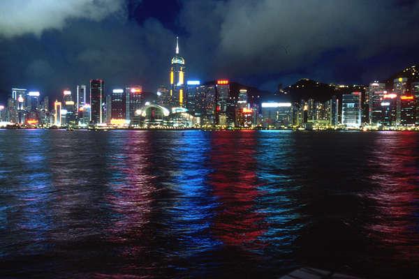 香港夜景2001