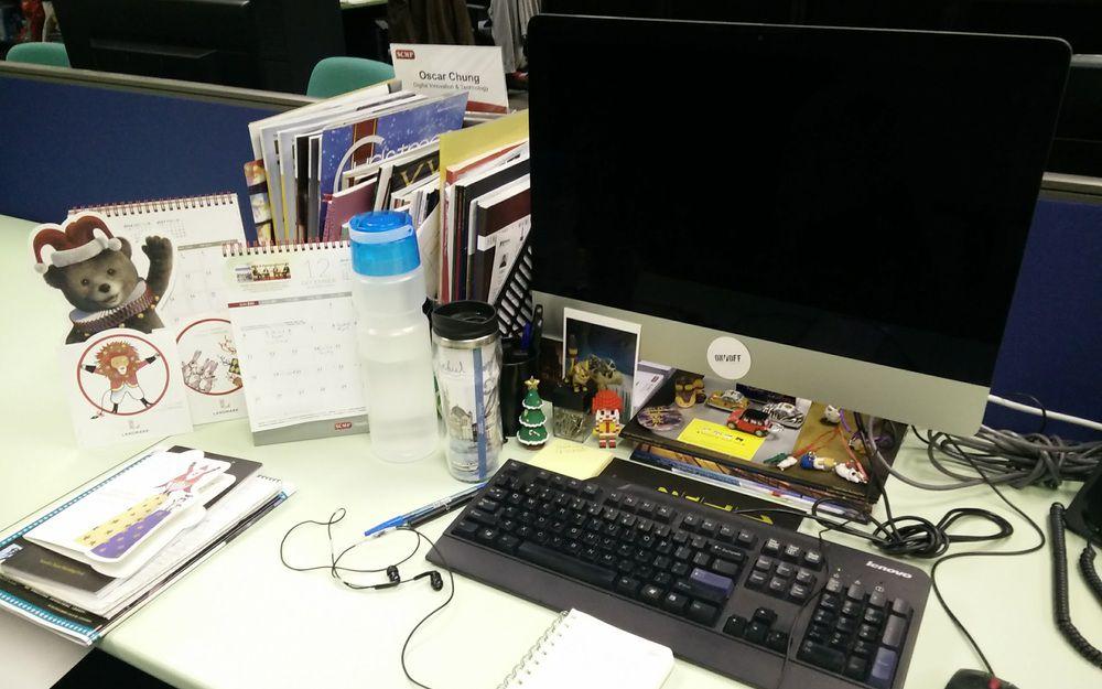 我的工作桌面