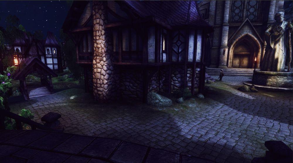 The Elder Scrolls IV: Oblivion城市夜景