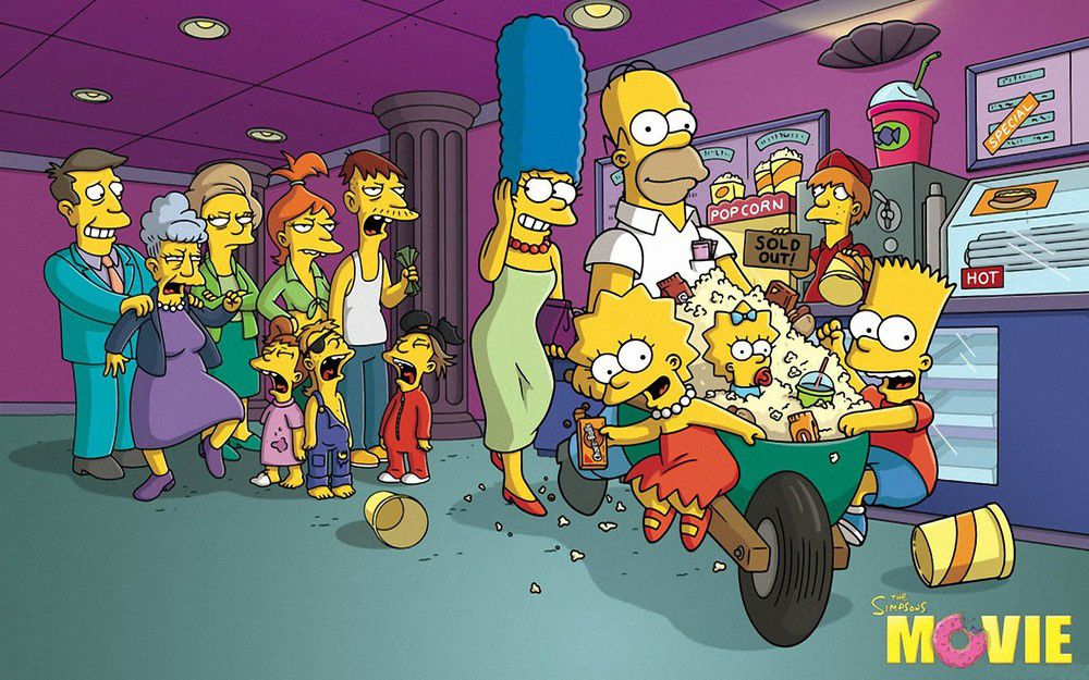 The Simpsons Movie 阿森一族大電影
