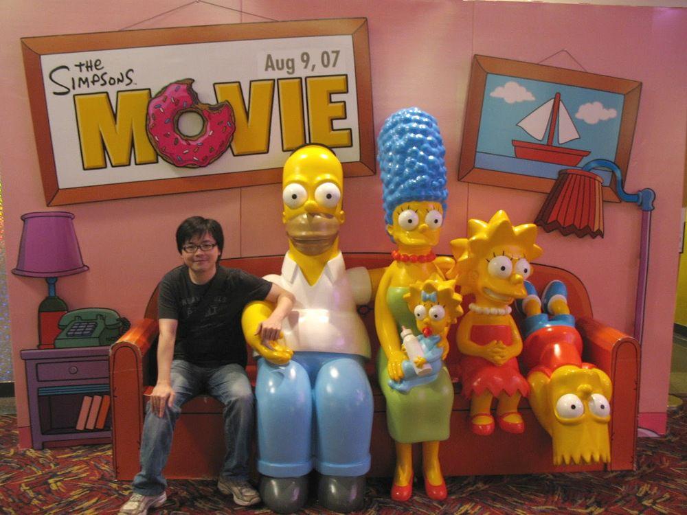 我和Simpson一家