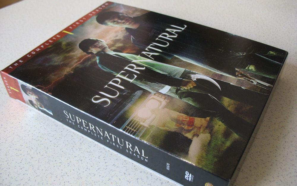 Supernatural season 1 DVD