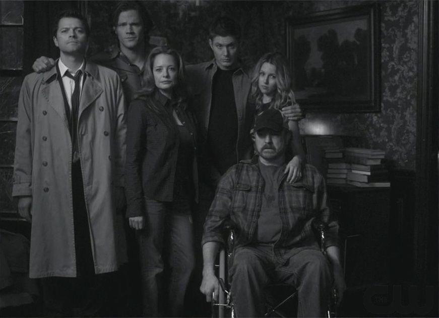 Supernatural主要角色群