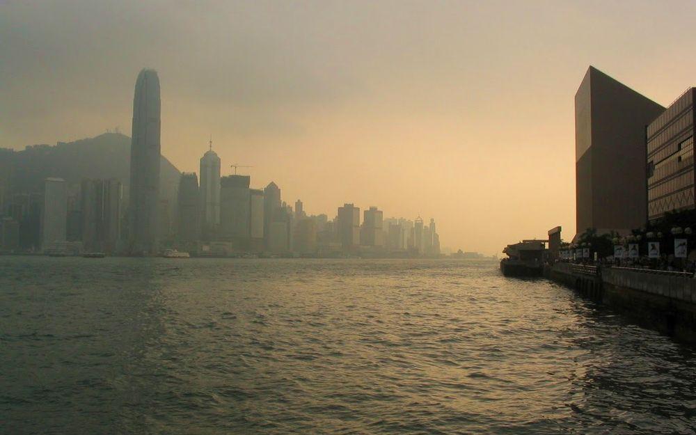 維港的黃昏