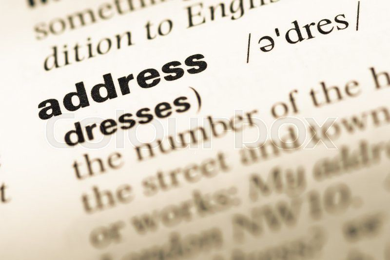 字典address