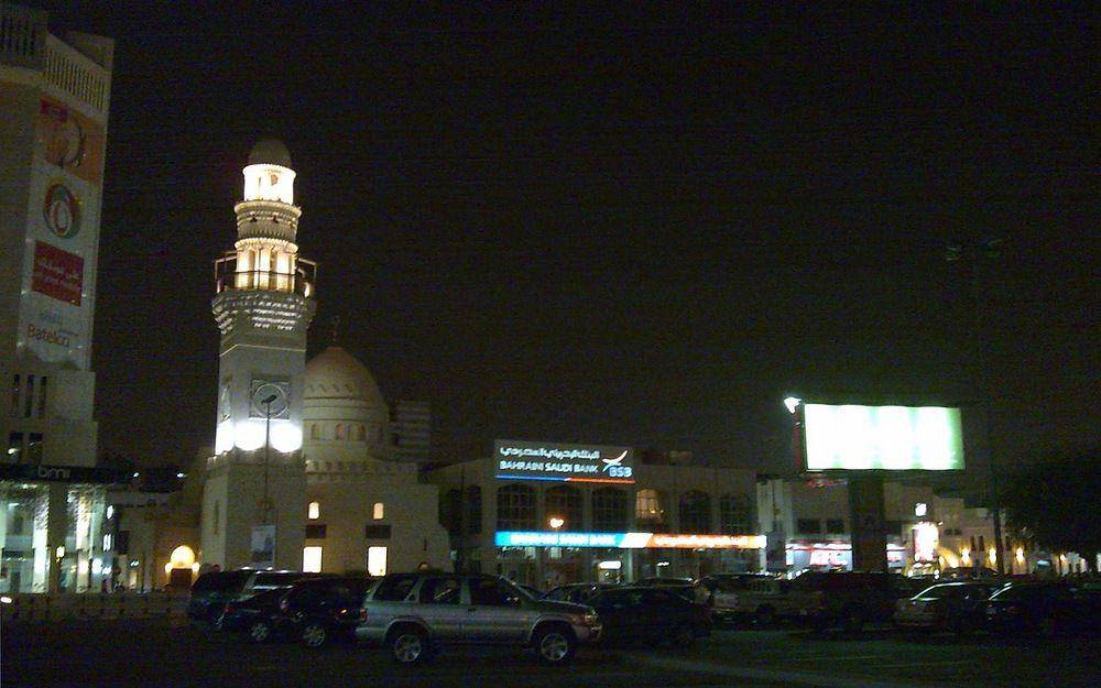 Bahrain Manama晚上