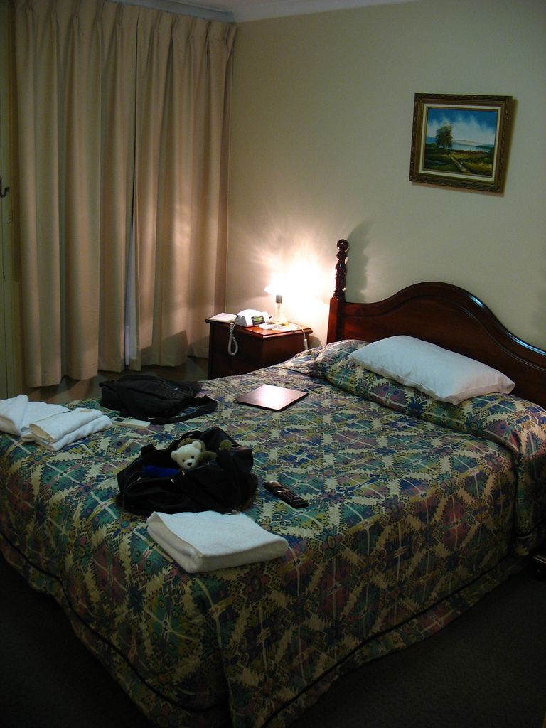 在3 Sisters Motel度過溫暖的晚上