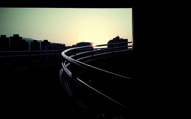 camera360 - 夕陽剪影
