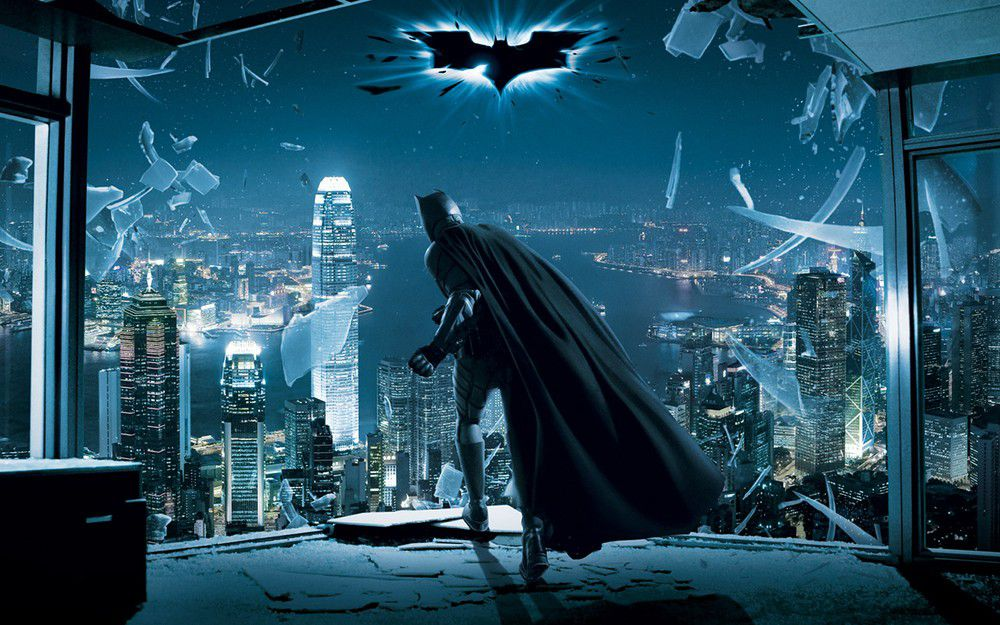 《The Dark Knight》耀目的黑騎士