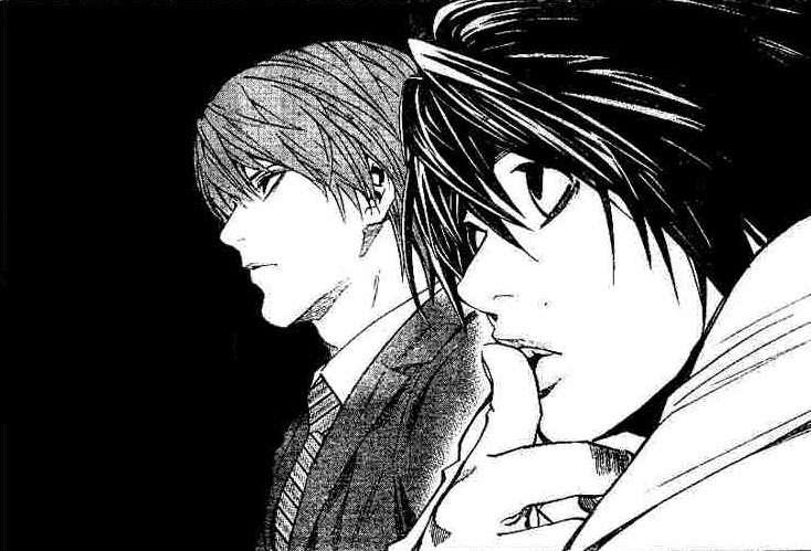 Death Note - 夜神月與L