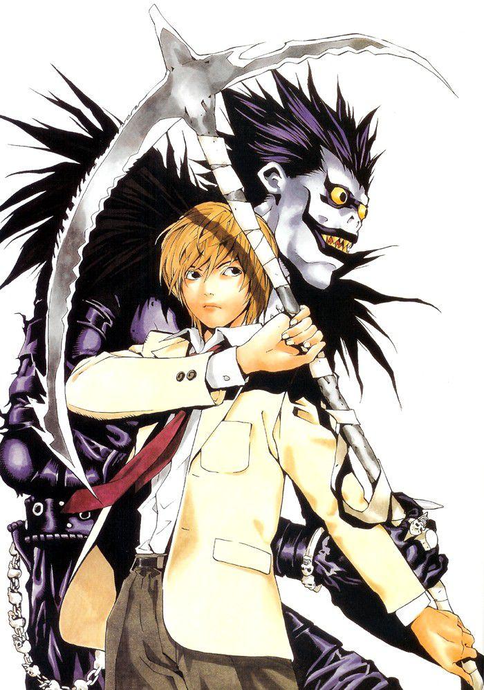 Death Note - 夜神月與流克