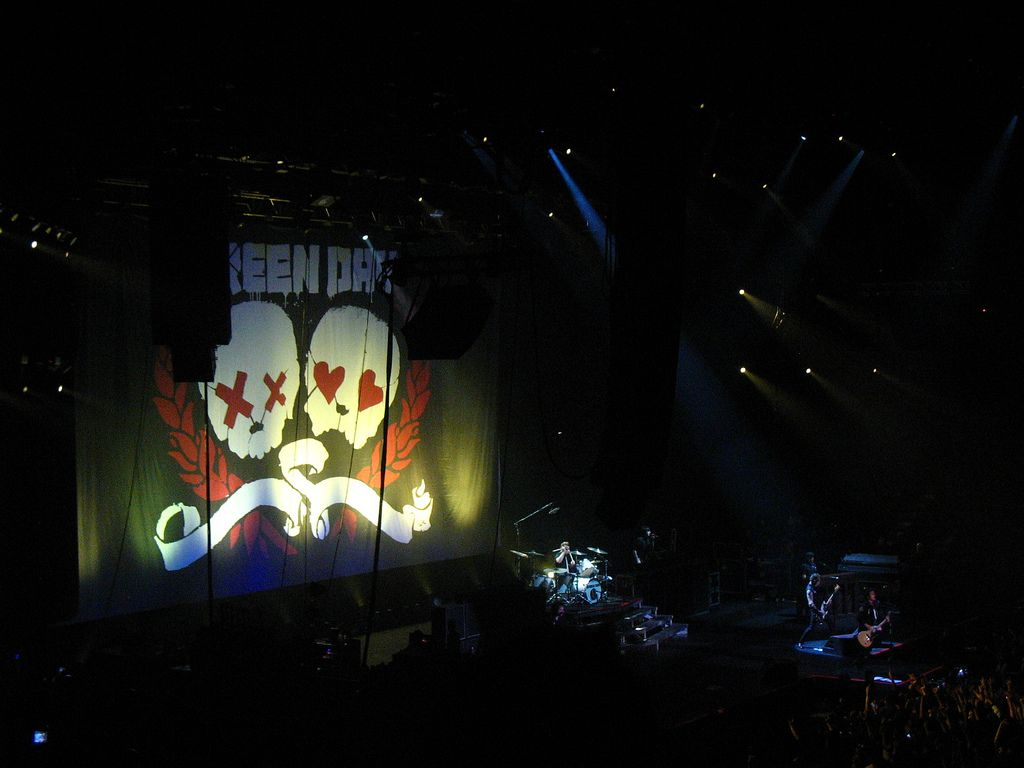 Green Day Live in Hong Kong
