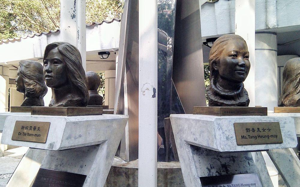 香港公園 - SARS非典型肺炎殉職醫護人員紀念銅像