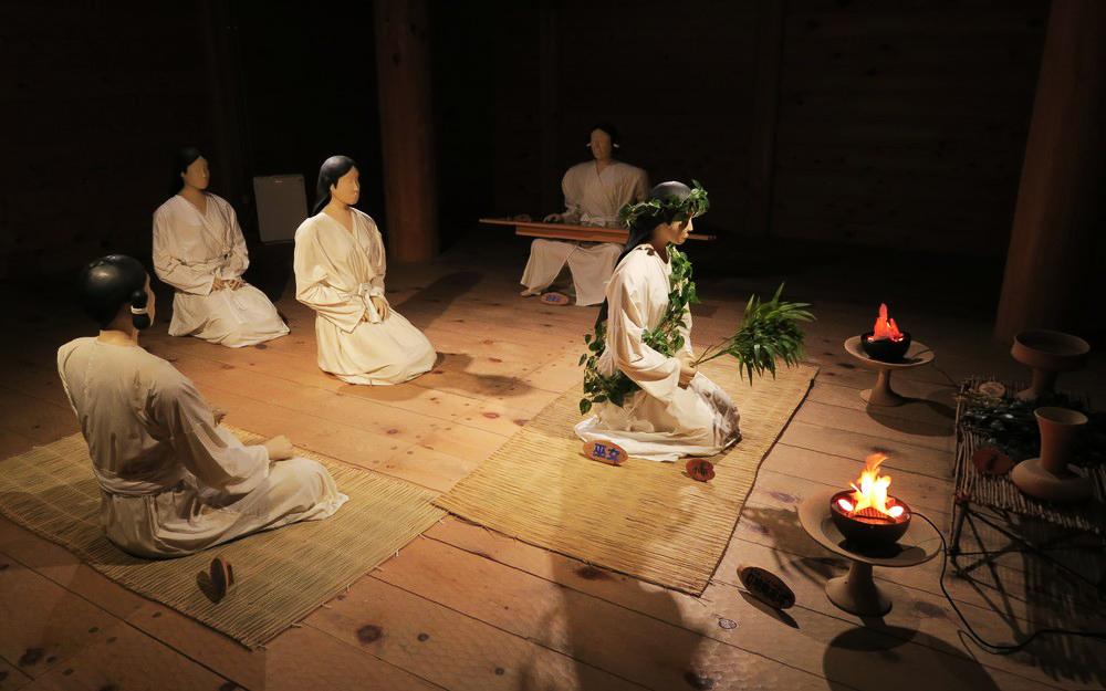 吉野里歷史公園 - 古風俗模型