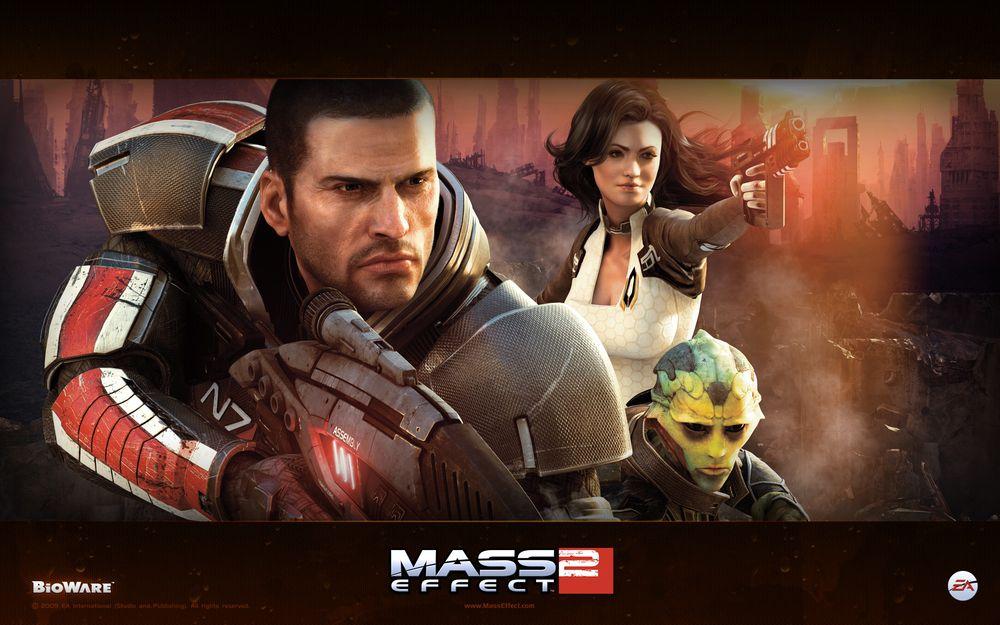 《Mass Effect 2》完成!