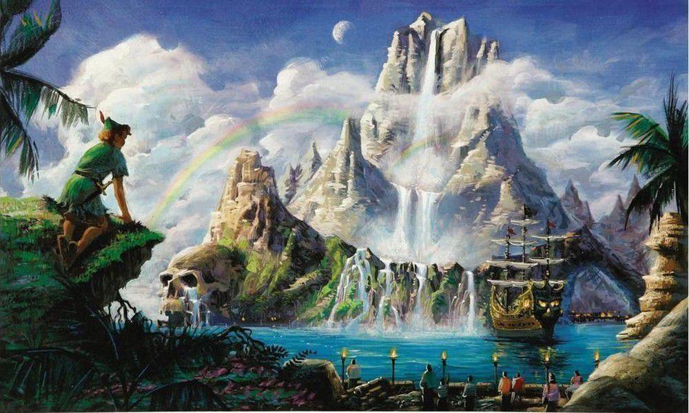 Neverland與Peter Pan