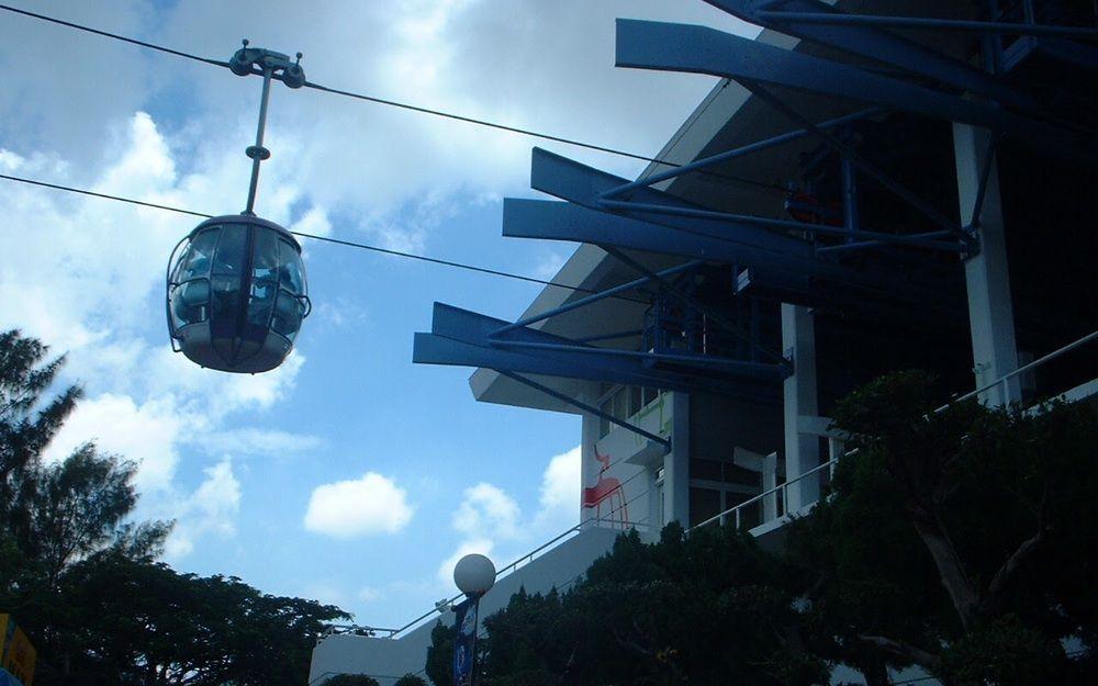 海洋公園遊2002 - 纜車站