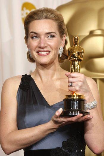 Kate Winslet獲最佳女主角