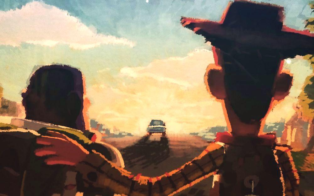 Pixar展 - 胡迪與巴斯光年