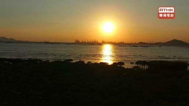 港台《漫.電視》日落景色