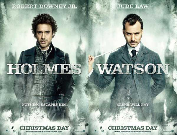 Sherlock Holmes 2009 - Robert Downey Jr. and Jude Law