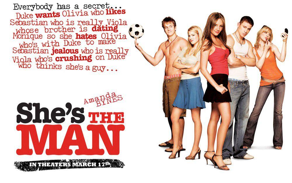 《She's the Man》青春「球」愛的輕鬆喜劇