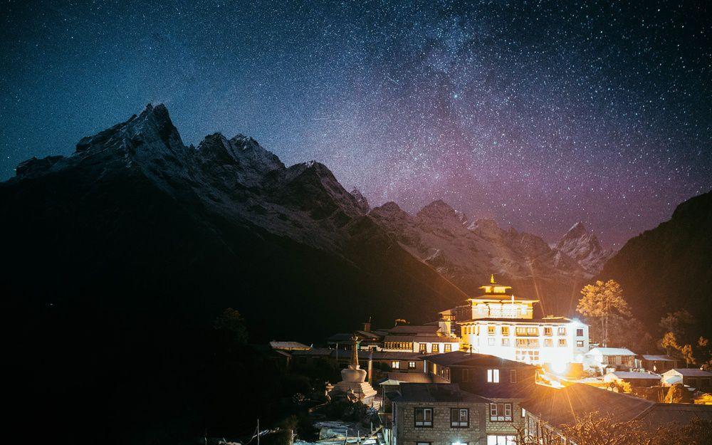 光污染下的星晴
