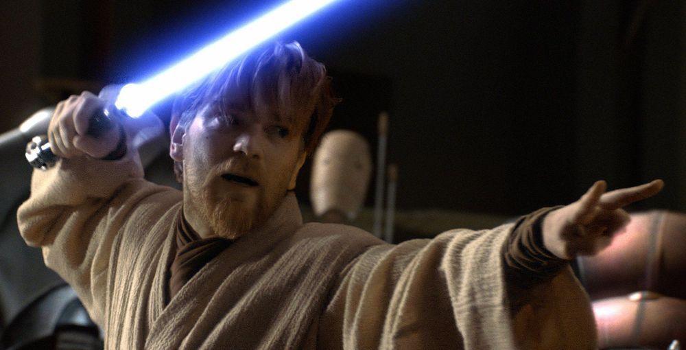 Obi-wan舉劍