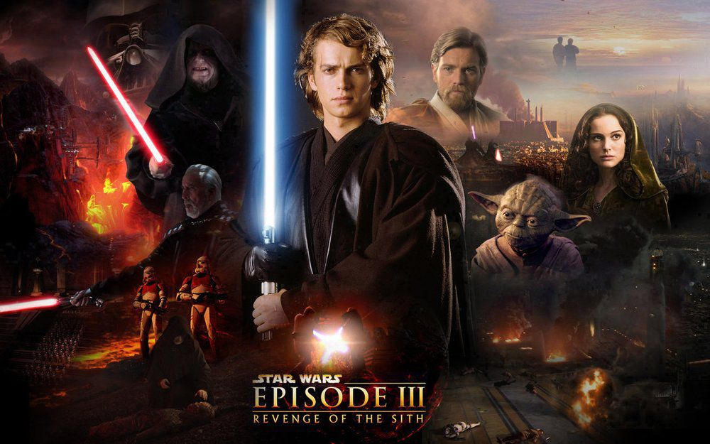 《Star Wars III – Revenge of the Sith》真的大戰了
