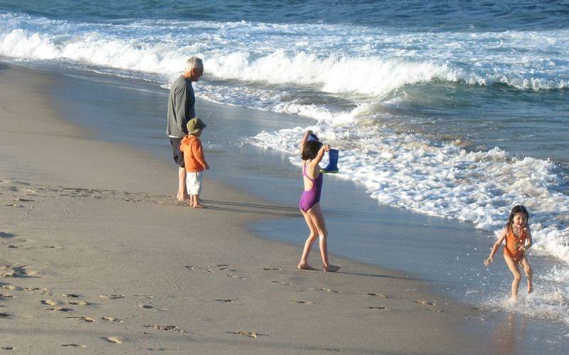 Bronte Beach的活力