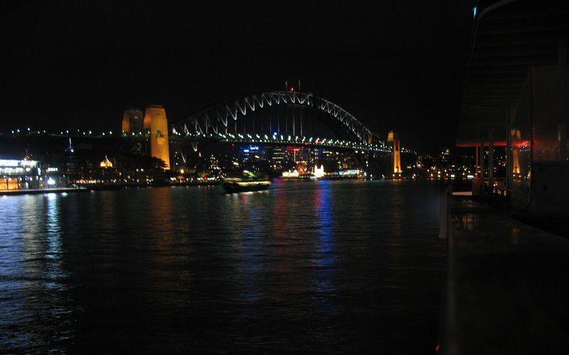 悉尼港夜景