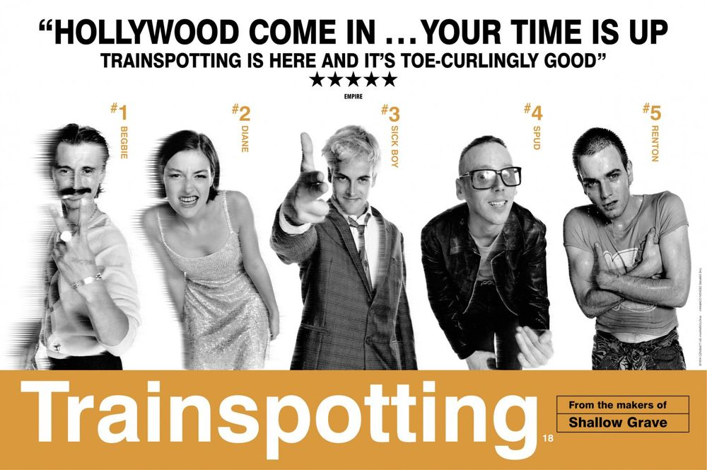 《Trainspotting》在毒海醉生夢死