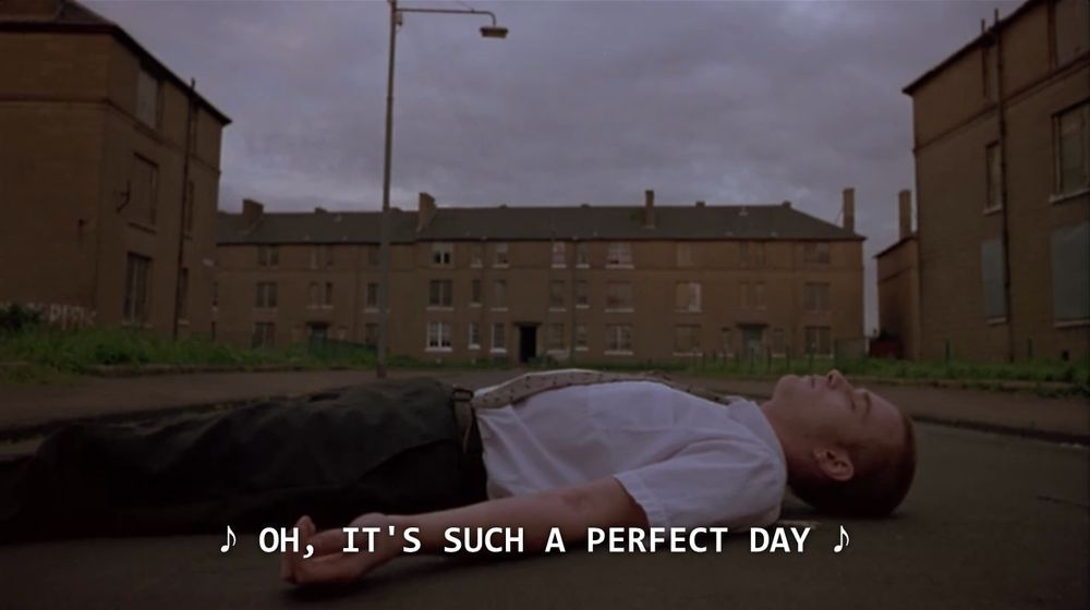 Trainspotting - Renton