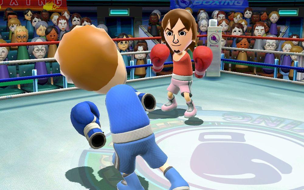 Wii Sports拳擊