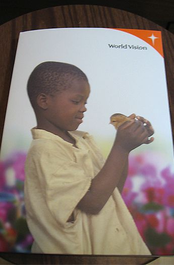 World Vision Child Sponsorship Booklet